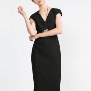 Zara Zipper Back Dress